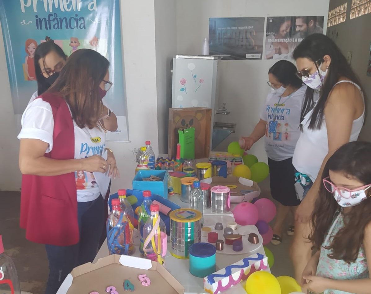 Secretaria de Educação promove atividades no Mês da Primeira Infância