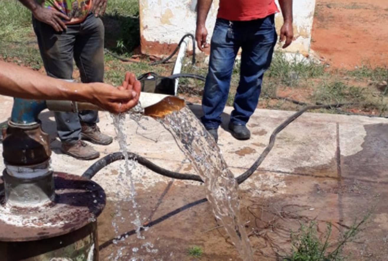 Poço que abastece polo Lagoinha passa por manutenção e abastecimento é regularizado