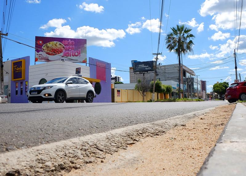 Gerência de Trânsito melhora mobilidade na Avenida João da Escóssia