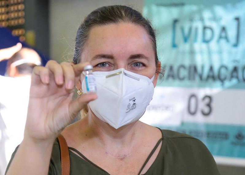 Vacinação contra a Covid-19 registra mais 17 mil doses aplicadas em dez dias