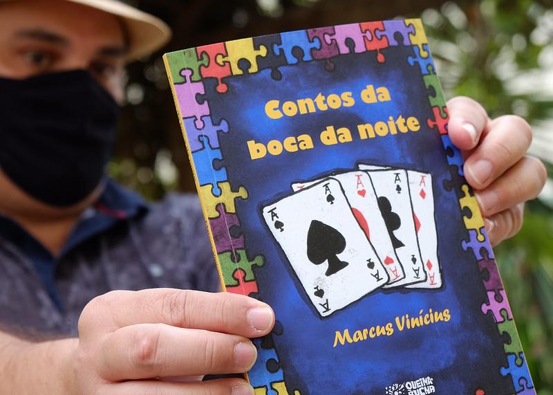 """Escritor Marcus Vinicius lançará livro """"Contos da boca da noite"""" com apoio da Prefeitura de Mossoró"""
