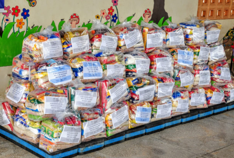 Vacina solidária arrecadou e distribuiu mais de 3,5 toneladas de alimentos
