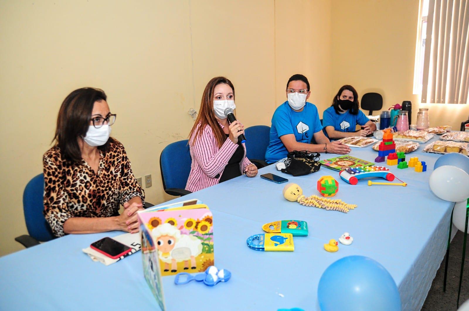 Secretaria realiza Oficina Territorial da Primeira Infância