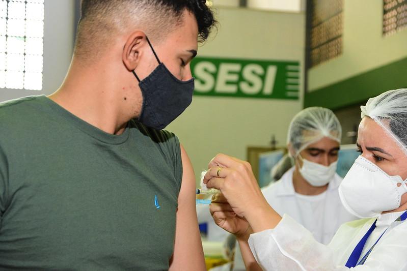 Campanha Mossoró Vacina aplica mais de 4 mil doses neste fim de semana