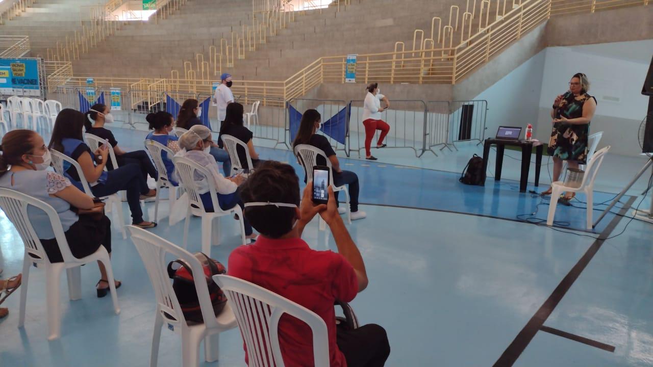 Dia Nacional da Saúde é comemorado em Mossoró com palestra no Ginásio Municipal de Esporte