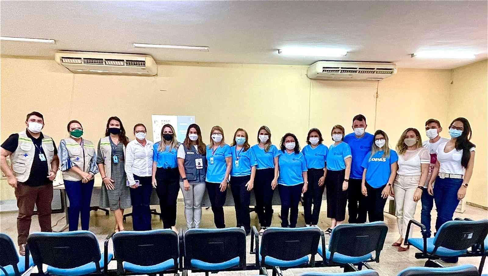 Técnicos do Ministério da Saúde visitam CIEVS Mossoró