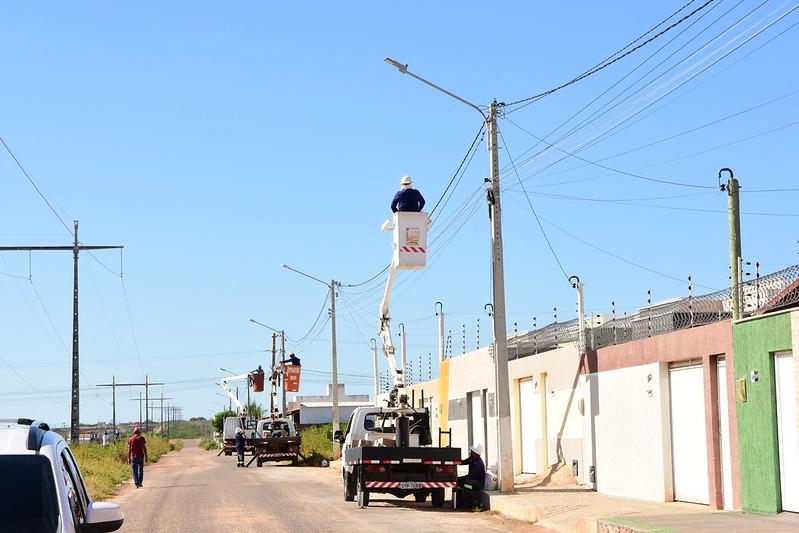 Alto das Brisas recebe mutirão de infraestrutura e serviços urbanos