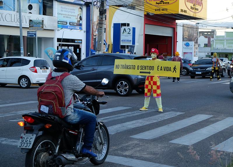 Movimento Maio Amarelo conscientiza população sobre cuidados no trânsito