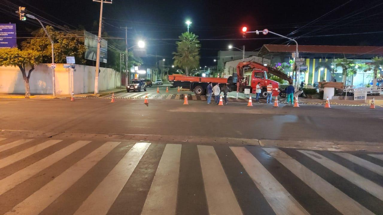 Trânsito: Intervenção na Avenida João da Escóssia garante agilidade em obras de drenagem