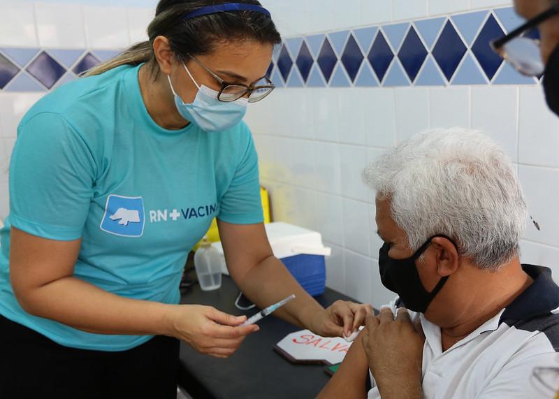 Covid-19: Mossoró Vacina tem 1.800 doses aplicadas no fim de semana