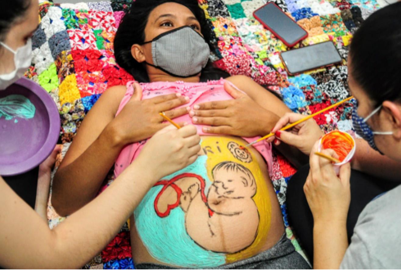 Primeira Infância: CRAS Costa e Silva realiza ultrassonografia artística em gestantes