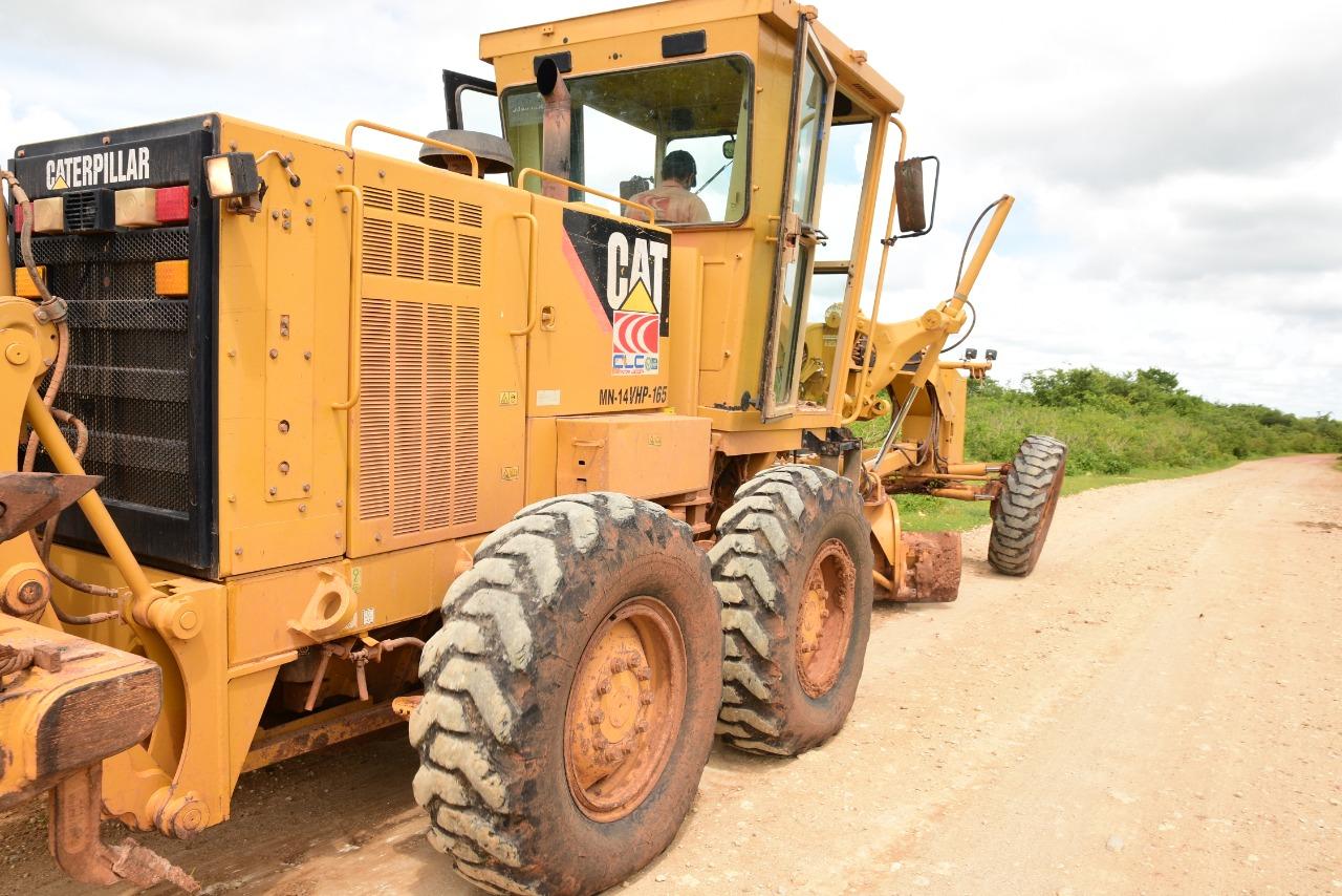 Secretaria de Infraestrutura já recuperou mais de 100 quilômetros de estradas vicinais