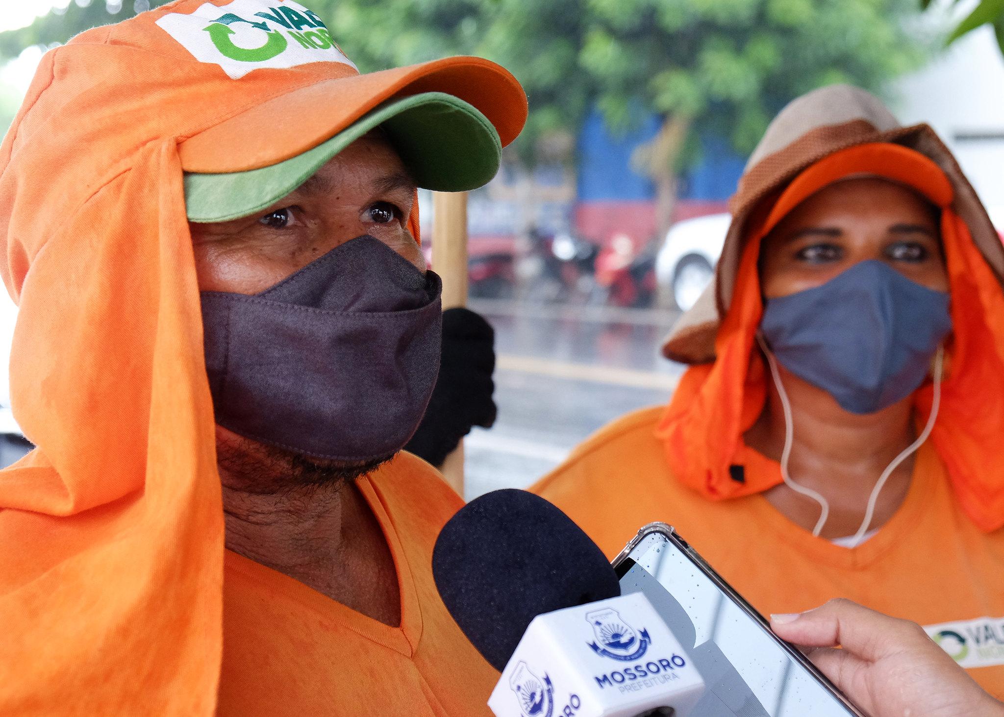 Dia do Gari: trabalhadores enaltecem o amor à profissão e zelo pela cidade