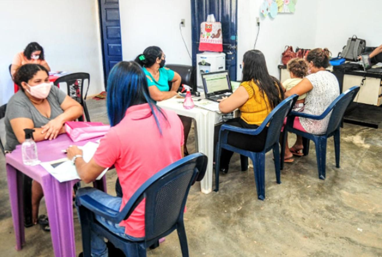 Secretaria realiza atualização cadastral de famílias na Maísa