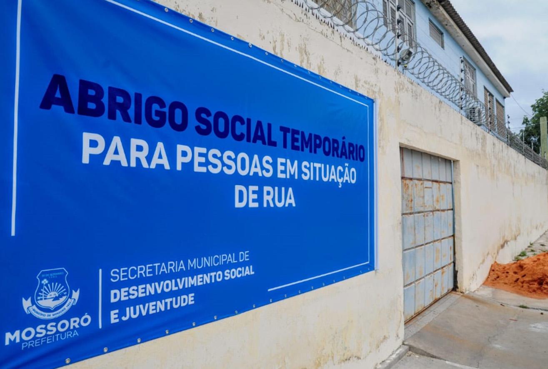 Abrigo temporário para pessoas em situação de rua  terá novo protocolo de atendimento
