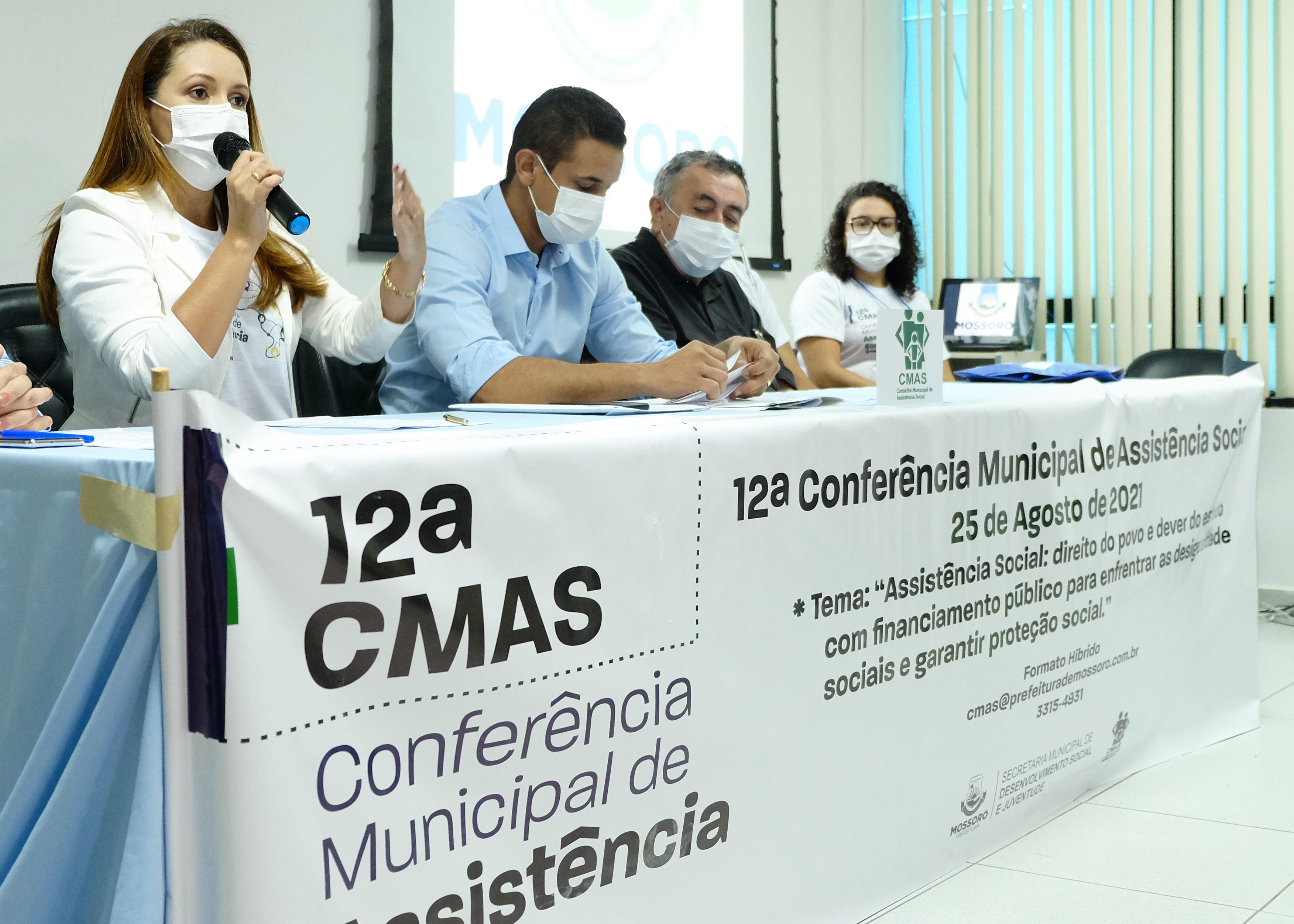 CMAS parabeniza comissão organizadora da 12ª Conferência Municipal