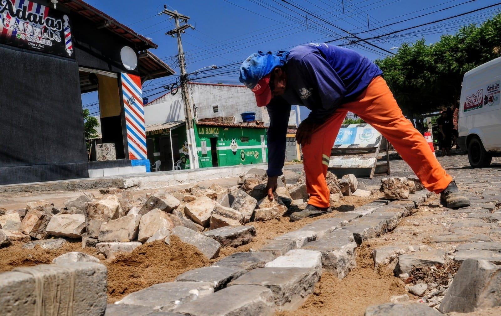 Operação tapa-buracos contempla novas ruas no Planalto 13 de Maio