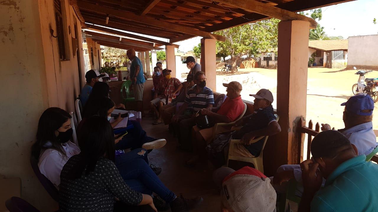 Projeto sobre piscicultura é apresentado a agricultores do Assentamento Paulo Freire