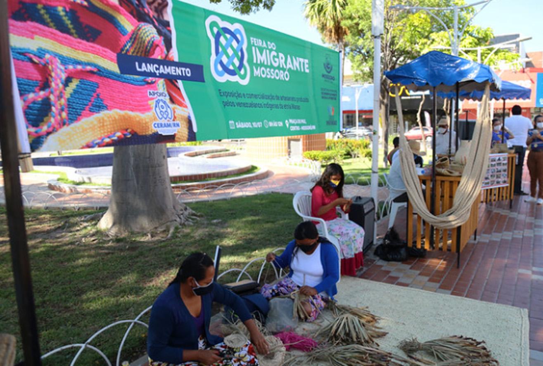 Feira do Imigrante Mossoró é lançada na Praça do Pax