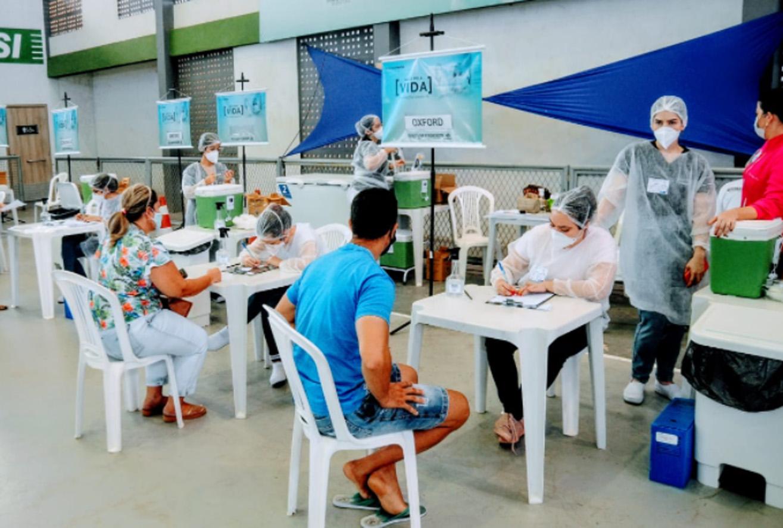 Profissionais do SUAS começam a ser vacinados contra a Covid-19