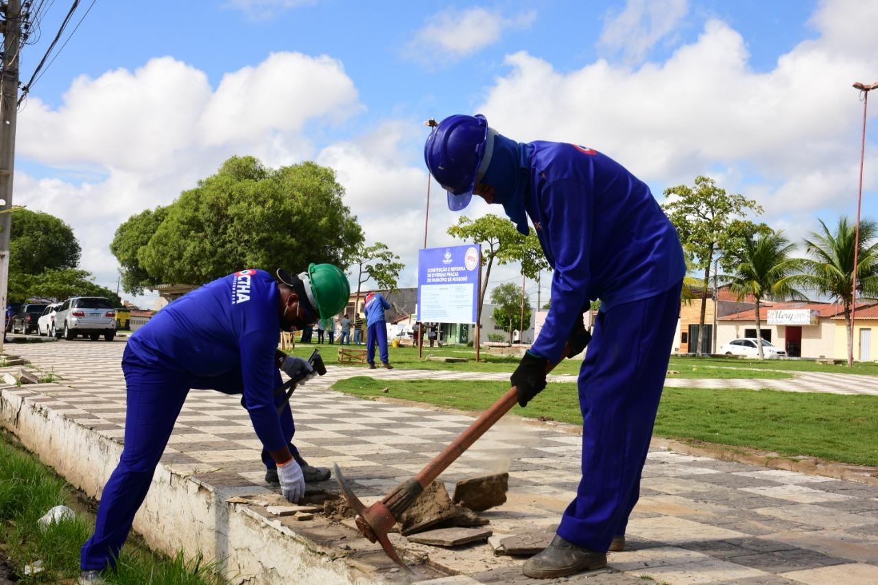 População ganhará espaços de lazer e esportes com obras na praça do Abolição IV