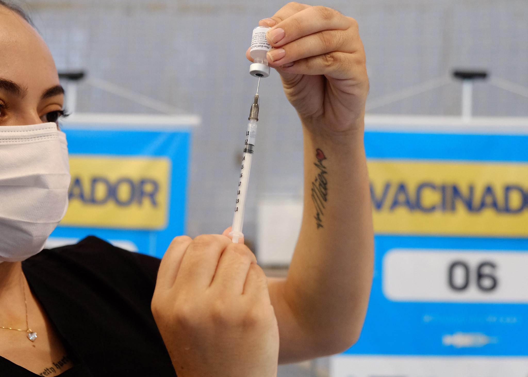 Ginásio Municipal e Sesi são pontos de vacinação contra Covid-19 em Mossoró