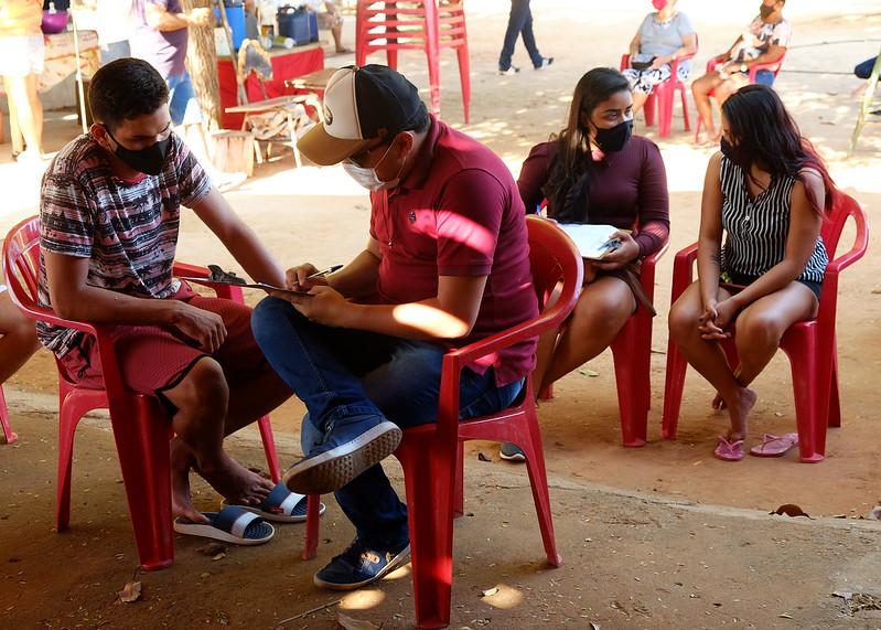 Secretaria de Cultura realiza levantamento de demandas culturais no assentamento São Romão