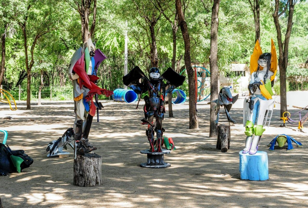 Parque Municipal recebe exposição artística com foco na sustentabilidade ambiental