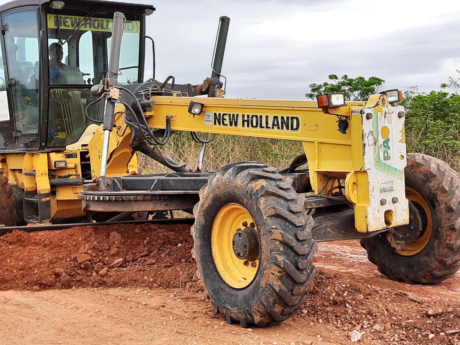 Recuperação de estradas vicinais contempla novas comunidades rurais