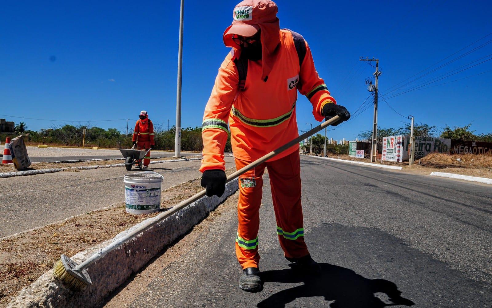 """Ações do """"Mossoró Limpa"""" são realizadas no Santo Antônio"""