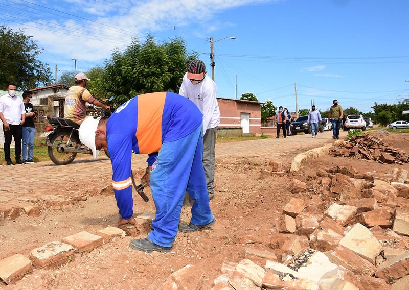 Polo Jucuri recebe obras de tapa-buracos
