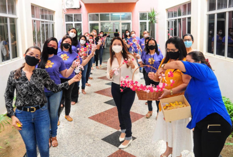 Servidoras do Desenvolvimento Social recebem homenagem pelo Dia das Mães