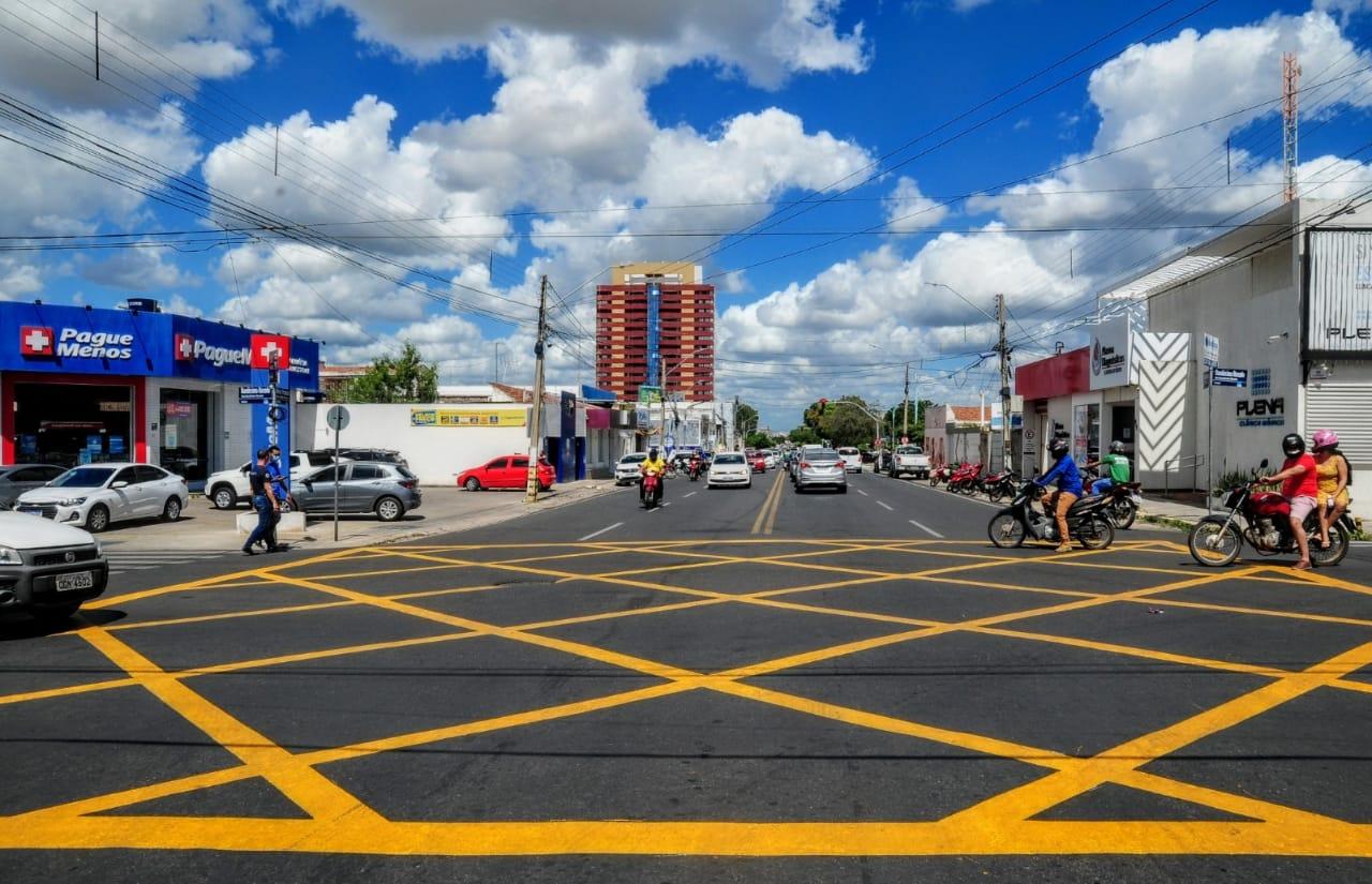 Área de conflito: Gerência de Trânsito informa sobre nova sinalização no Centro