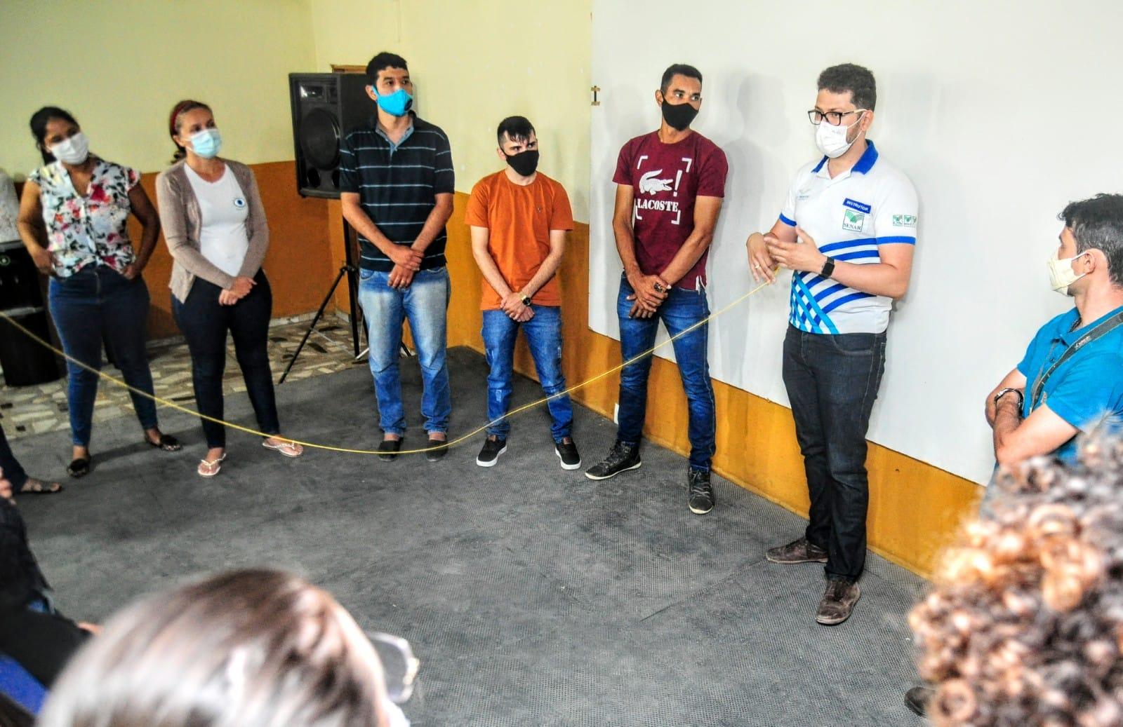 Curso Técnico de Fruticultura tem primeira aula presencial