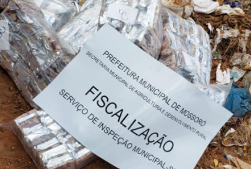Fiscalização apreende 4 toneladas de carne de charque imprópria para consumo