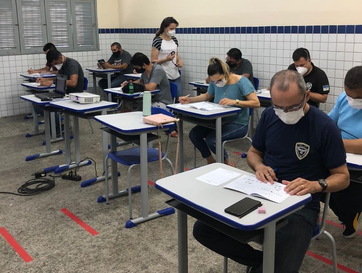 Guardas municipais iniciam teste psicológico para porte institucional