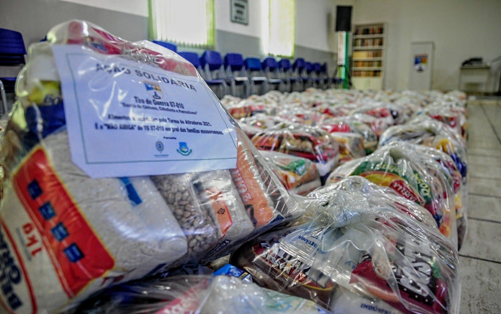 Ação solidária arrecada mais de 10 toneladas de alimentos em campanha