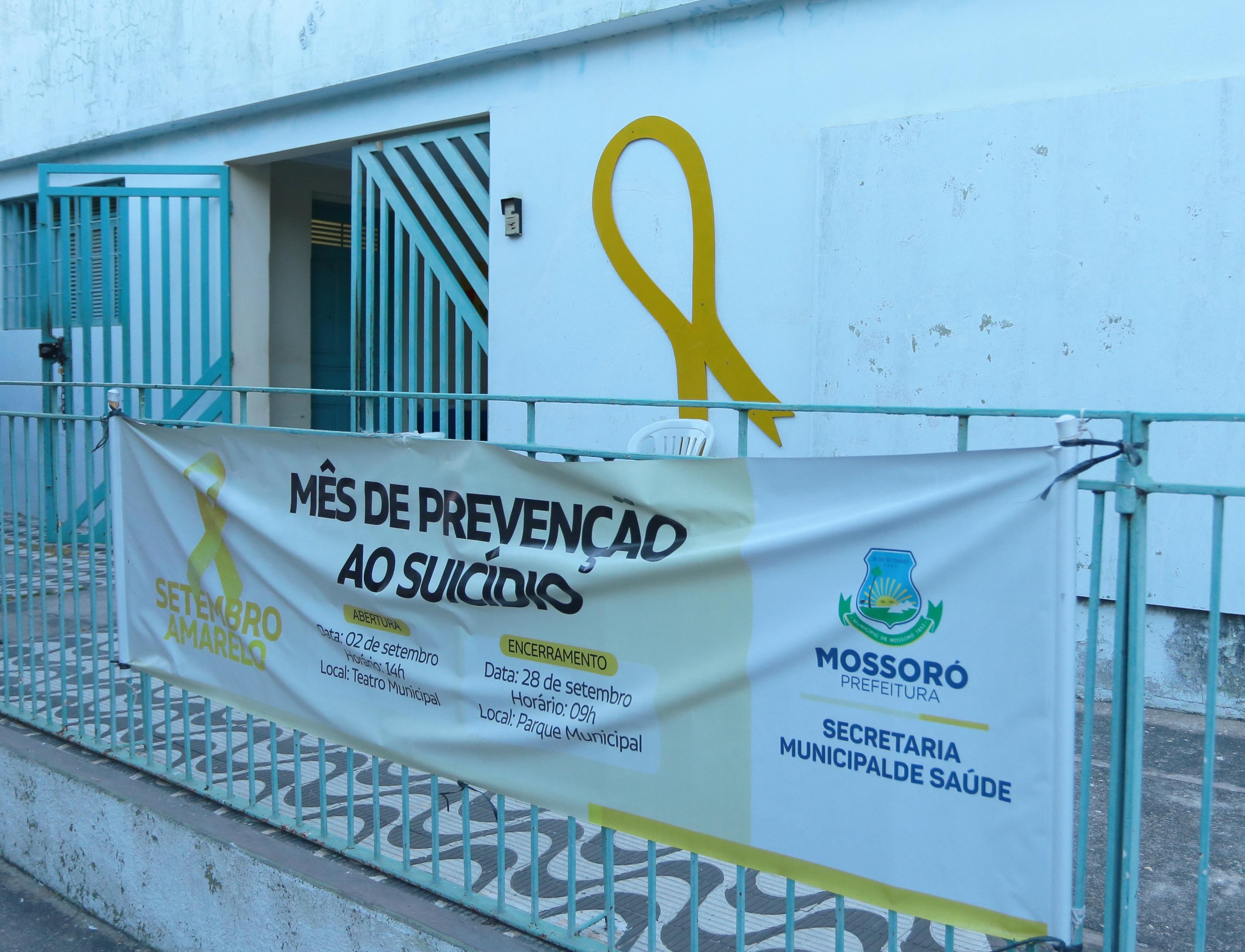 """""""Setembro Amarelo"""" segue com ações na rede de atenção à Saúde Mental"""