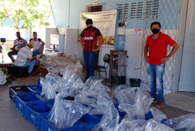 Mais de 22 toneladas de produtos da agricultura familiar são distribuídas em Mossoró