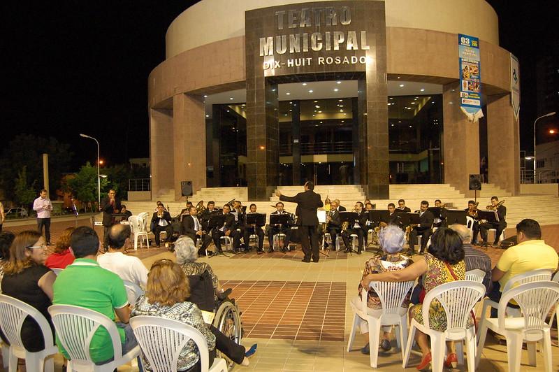 Banda Sinfônica Municipal Artur Paraguai completa 85 anos