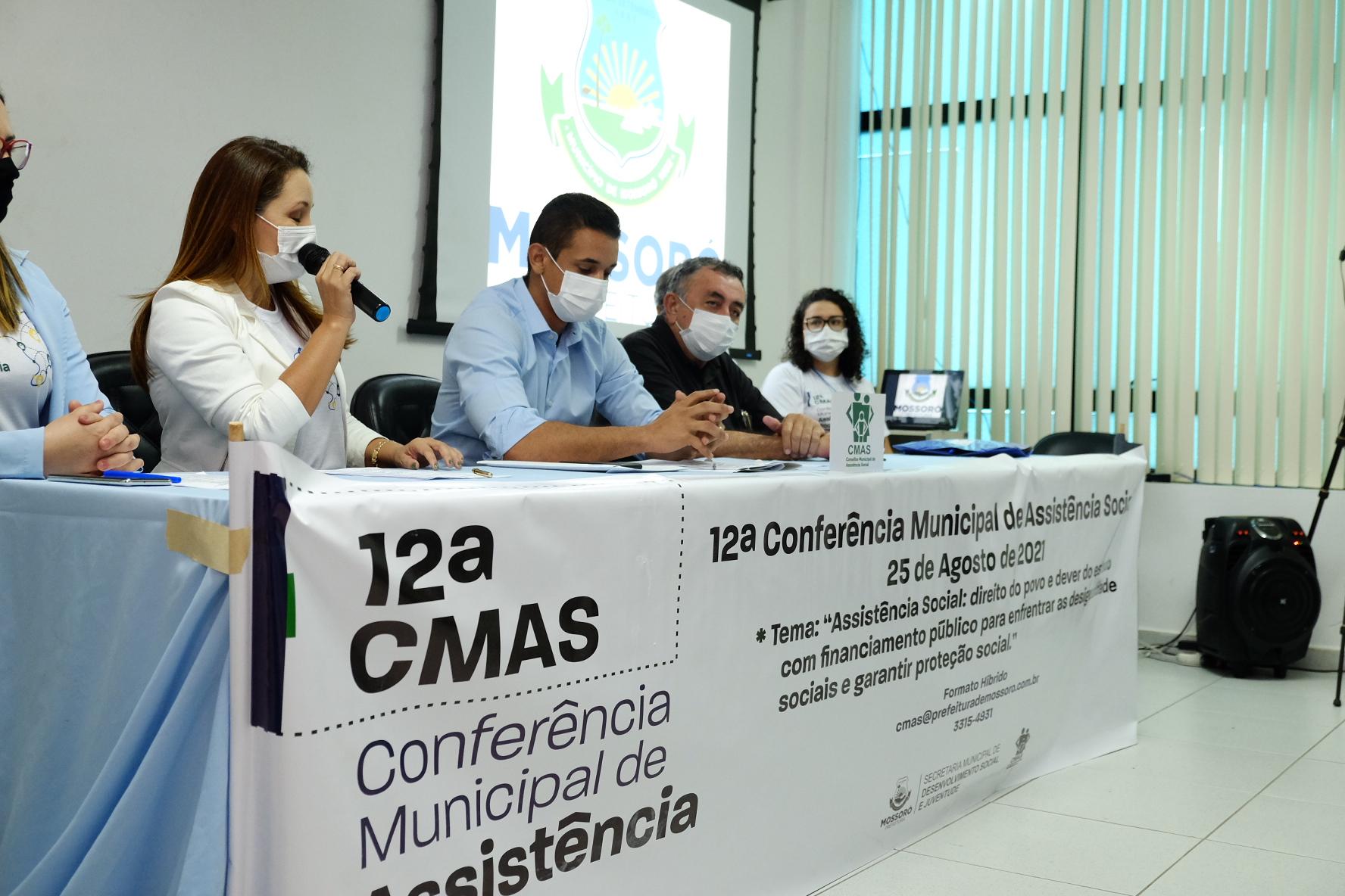 Conferência Municipal discute eixos da política de assistência social