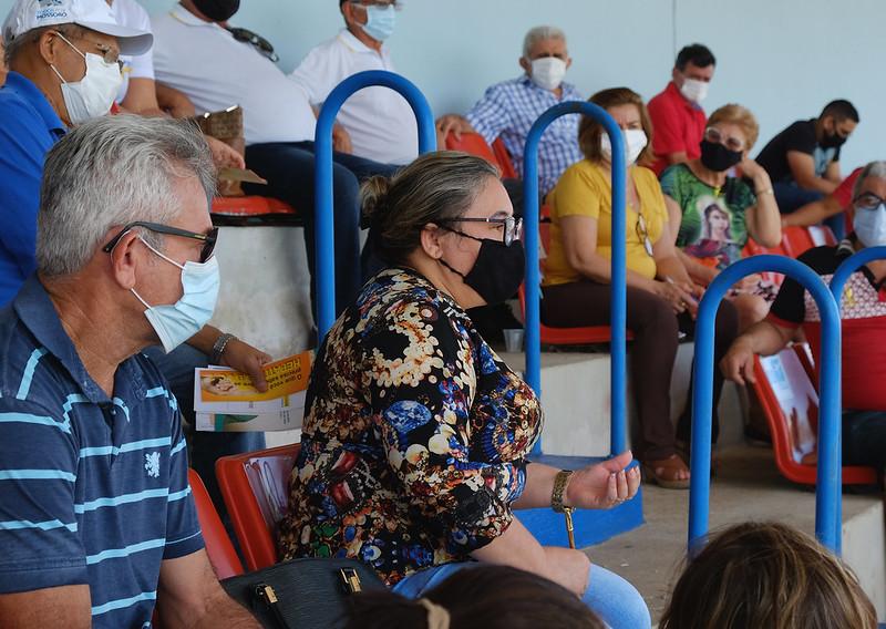 Dia Mundial de Luta Contra as Hepatites Virais é comemorado com ação de saúde no Nogueirão