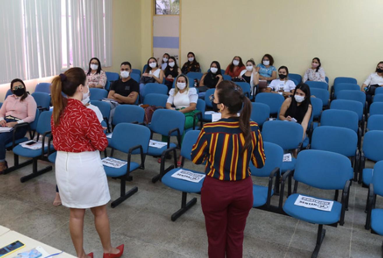 Secretaria reúne coordenadores da Proteção Social Básica para alinhar ações em agosto