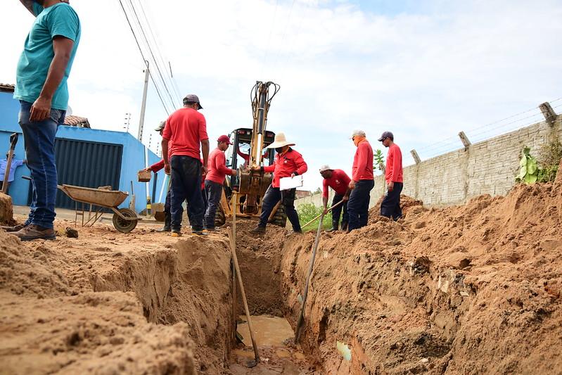Obras de saneamento básico representam qualidade de vida para a população