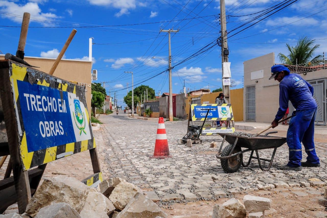 Recuperação de ruas avança no Planalto 13 de Maio
