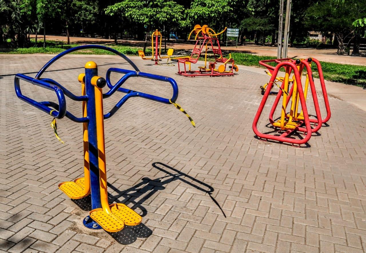 Parque Municipal reabre equipamentos para o público que deve seguir regras de biossegurança
