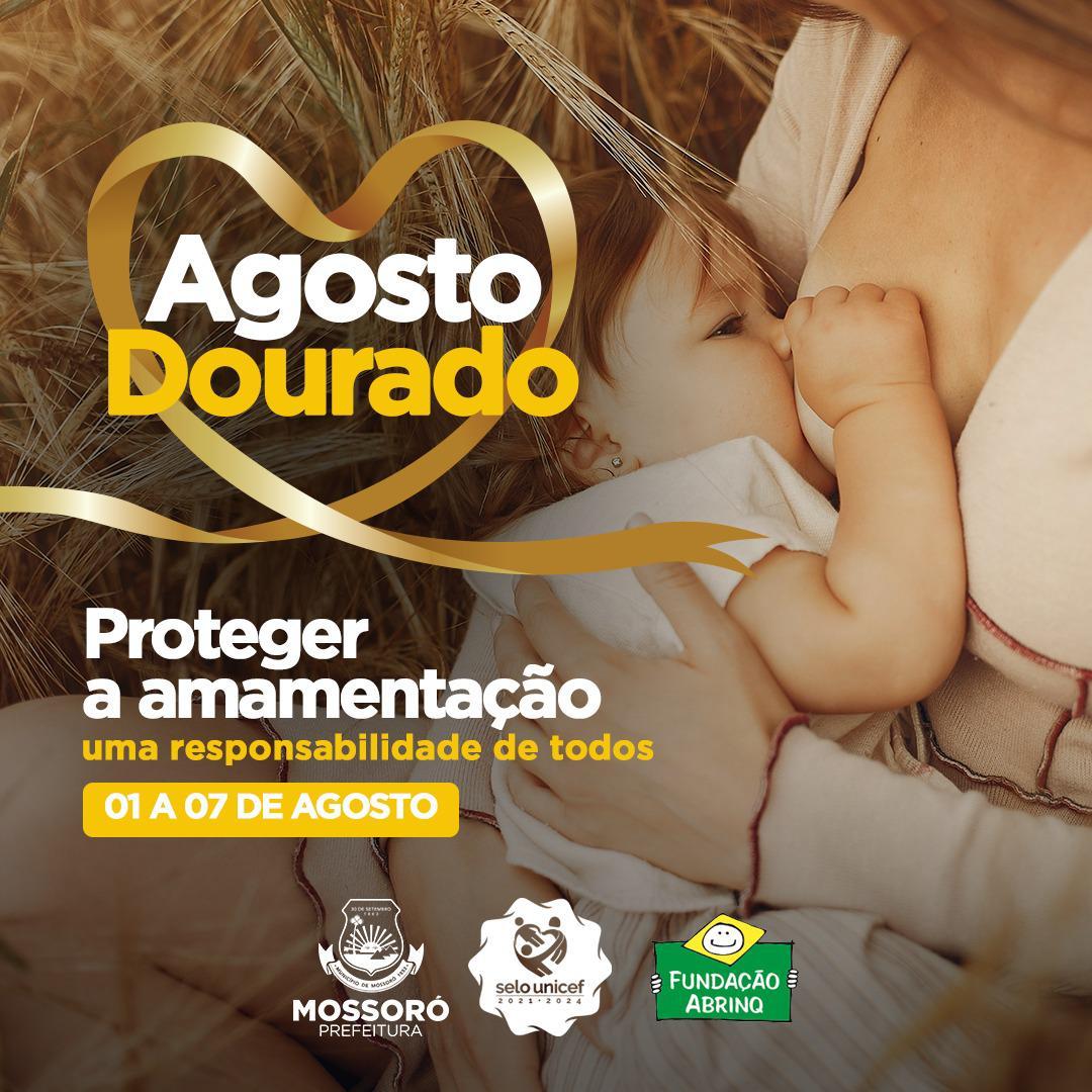 Município prepara ações alusivas ao Agosto Dourado com foco no incentivo à amamentação