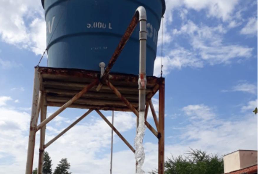 Poço instalado na lavanderia do Jucuri volta a funcionar após oito anos parado