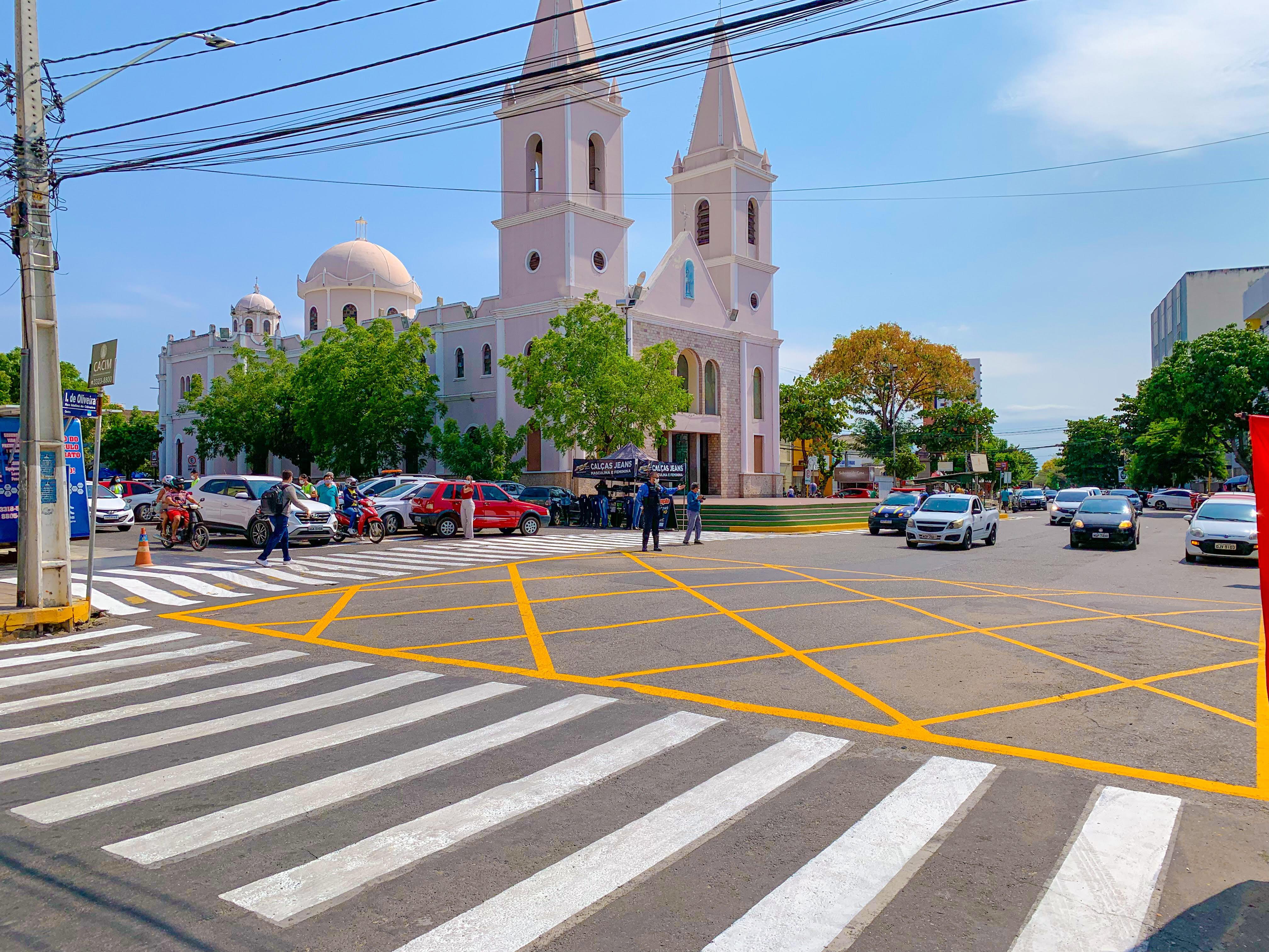 Prefeitura de Mossoró investe em sinalização e melhora o trânsito local