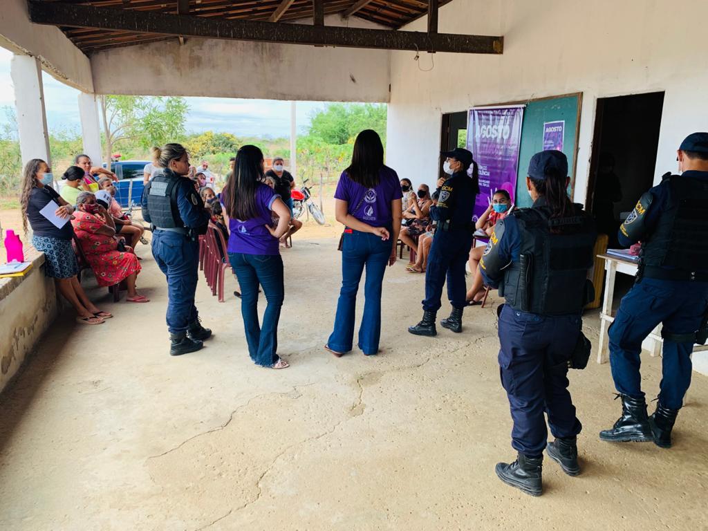 Campanha de conscientização contra violência doméstica chega à zona rural